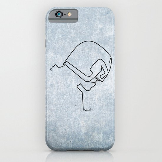 One line Dredd iPhone & iPod Case