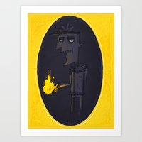 Pyrokinetic Art Print