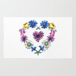 Lovely Flowers Rug