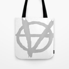 Vagenda Logo - Basic Silver Tote Bag