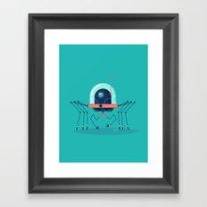 :::Mini Robot-Arachno::: Framed Art Print