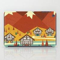 switzerland iPad Cases featuring Switzerland by Kakel