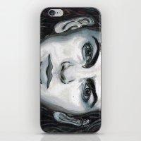 eddie vedder iPhone & iPod Skins featuring Vedder by Emily Morris