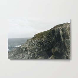North Cornish Coast Metal Print