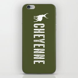 Deer: Cheyenne, Wyoming iPhone Skin