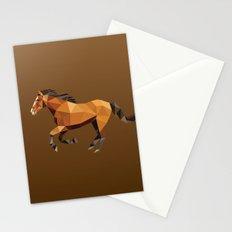 Geometric Horse Stationery Cards