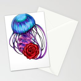 Stung by a Rose Stationery Cards