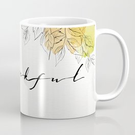 THANKFUL LEAFS Coffee Mug