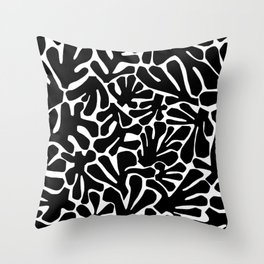 The Cut Outs // B&W Throw Pillow