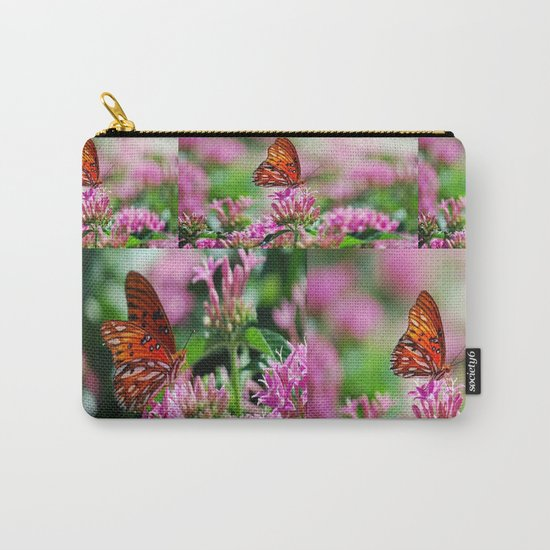 Wedding Butterfly Carry-All Pouch