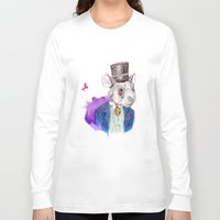 hamster Long Sleeve T-shirts featuring hamster by Amit Shimoni