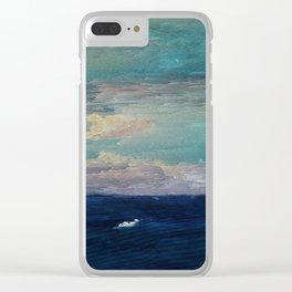 The Middle of Nowhere Clear iPhone Case