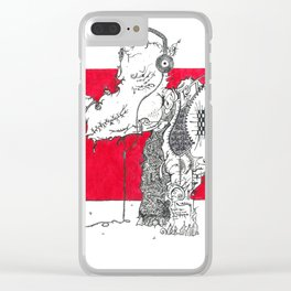 Red Rhino Clear iPhone Case