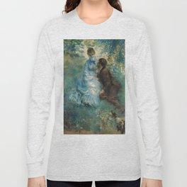 """Auguste Renoir """"Lovers"""" Long Sleeve T-shirt"""