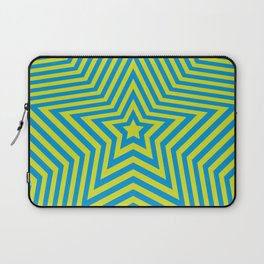 Stars - green-blue vers. Laptop Sleeve