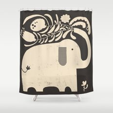 SPREADING JOY Shower Curtain