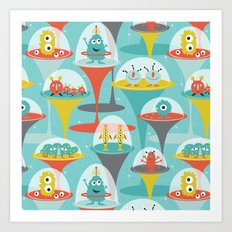 Alien Incubators Art Print