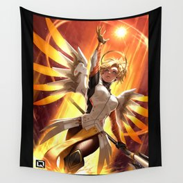 mercy watch Wall Tapestry