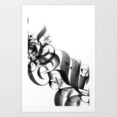 flow II Art Print