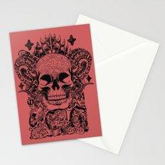 Cobra skull Stationery Cards