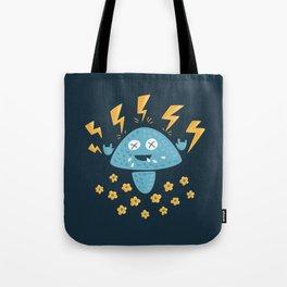 Heavy Metal Mushroom Tote Bag