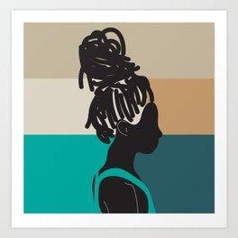 Locs Art Print