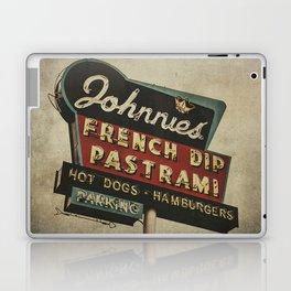 Johnnie's French Dip Pastrami Vintage/Retro Neon Sign Laptop & iPad Skin