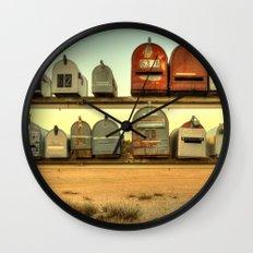 Saturday's Mail Wall Clock