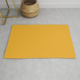 Bright Golden Yellow Inspired Coloro Mellow Yellow 034-70-33 Rug