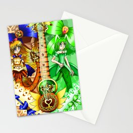 Sailor Mew Guitar #24 - Sailor Venus & Mew Retasu Stationery Cards