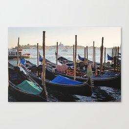 A Venetian Ride Canvas Print