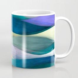 """Sea of ultraviolet and blue waves"" Coffee Mug"
