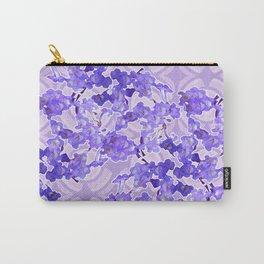 Ballenita flower blues Carry-All Pouch