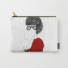 Hipster sheep Carry-All Pouch