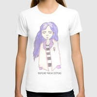 sisters T-shirts featuring sisters by Megan Rhiannon