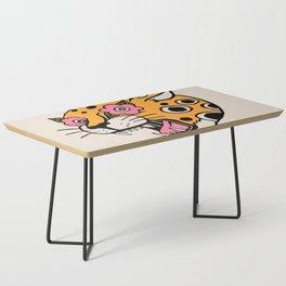 Cheetah Coffee Table