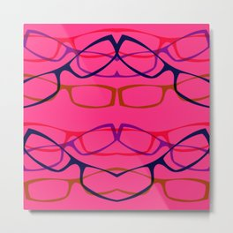 Four Eyes (2) Metal Print