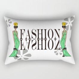 Blond Fashion Rectangular Pillow