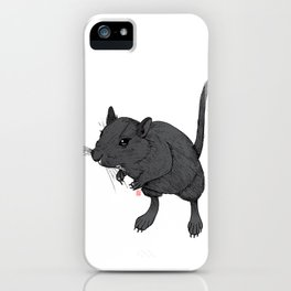 Gerbil Off iPhone Case