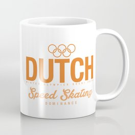 Dutch - Speed Skating Coffee Mug
