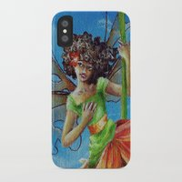 marianna iPhone & iPod Cases featuring Marianna - Heliconia Haute Couture by Lauralin Maynard