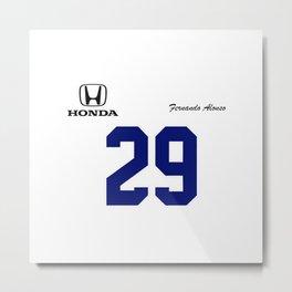 Honda Metal Print