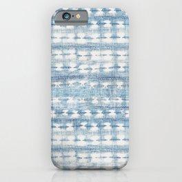 Rustic Indigo iPhone Case