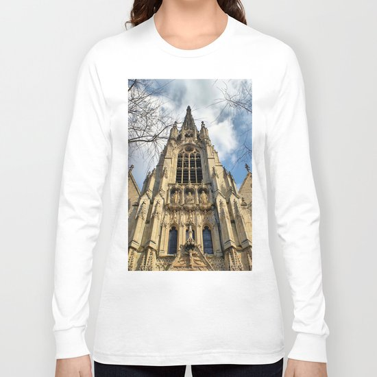 Lille Cathedral Long Sleeve T-shirt