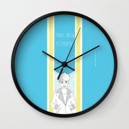 Make New Memories Wall Clock