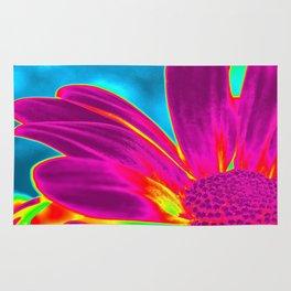 Flower | Flowers | Neon Daisy Rug