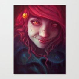 chapped Canvas Print