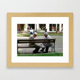 t(w)ogether in Bologna Framed Art Print