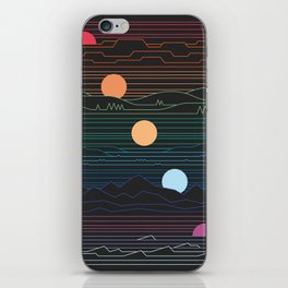 Many Lands Under One Sun iPhone Skin