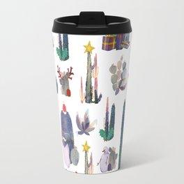 CACTUS CHRISTMAS!!!  Travel Mug